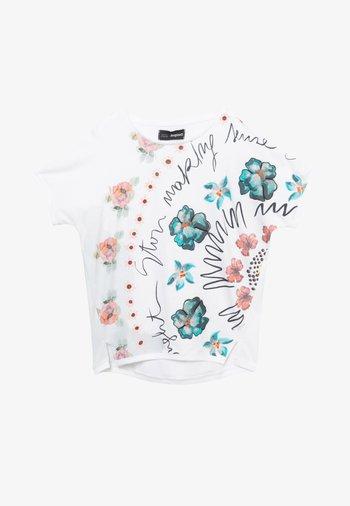 BERLIN - Print T-shirt - white