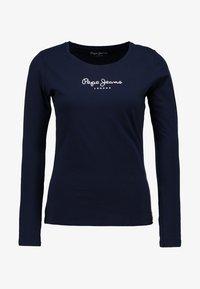 Pepe Jeans - NEW VIRGINIA  - Top sdlouhým rukávem - navy - 4