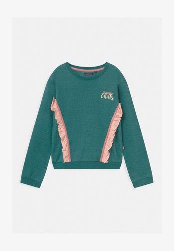 GIRLS  - Sweatshirt - mediterranean