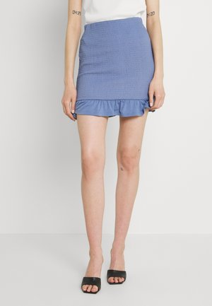 VIHAGEN SHORT FESTIVAL SKIRT - Mini skirt - colony blue