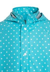 Playshoes - PUNKTE - Waterproof jacket - türkis - 4