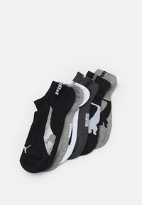 Puma - LIFESTYLE SNEAKERS 6 PACK UNISEX - Sports socks - black/white - 0