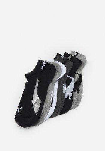 LIFESTYLE SNEAKERS 6 PACK UNISEX - Sports socks - black/white