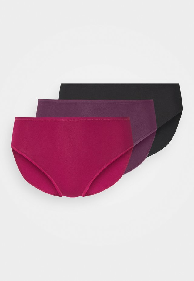 3 PACK - Slip - pink/mauve/black
