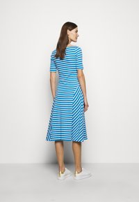 Lauren Ralph Lauren - Jersey dress - captain blue/white - 2
