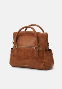 Desigual - MELODY LOVERTY - Tote bag - camel oscuro - 3