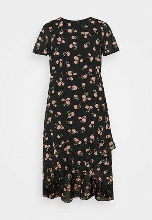 CURVE PUFF SLEEVE DRESS - Maxi šaty - multi