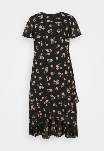 CURVE PUFF SLEEVE DRESS - Maxi dress - multi