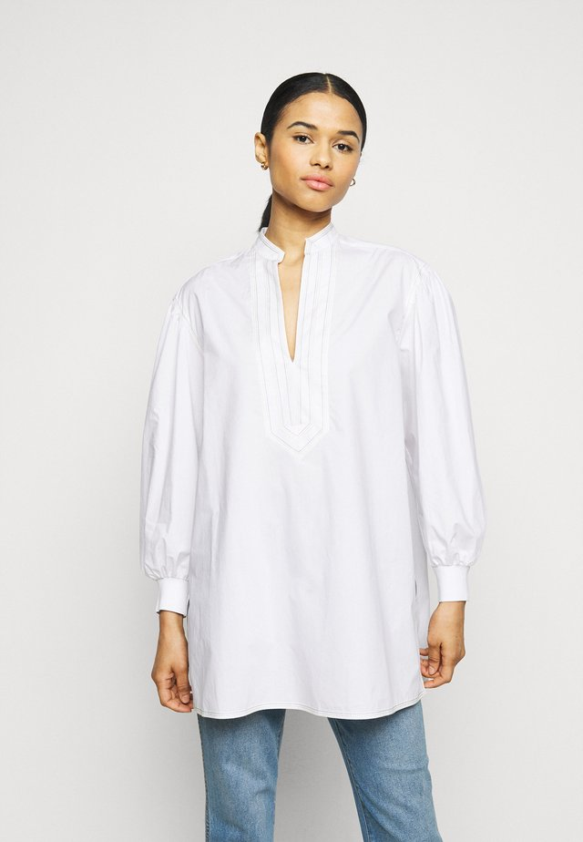 PUFFED SLEEVE - Tunika - white