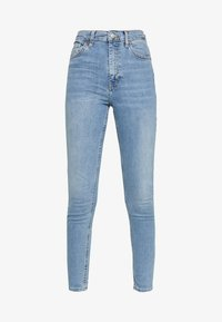 Topshop - BACK POCKET JAMIE  - Skinny džíny - bleach - 3
