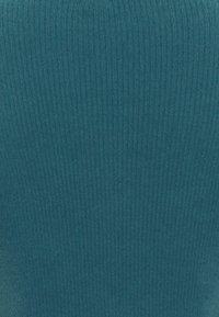 BDG Urban Outfitters - NOORI TIE FRONT CARDI - Vest - dark teal - 2
