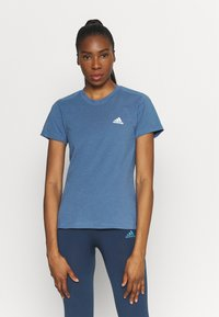 adidas Performance - T-shirt basique - blu/white - 0