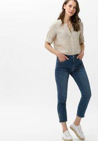BRAX - STYLE MARY S - Slim fit jeans - used water blue - 1