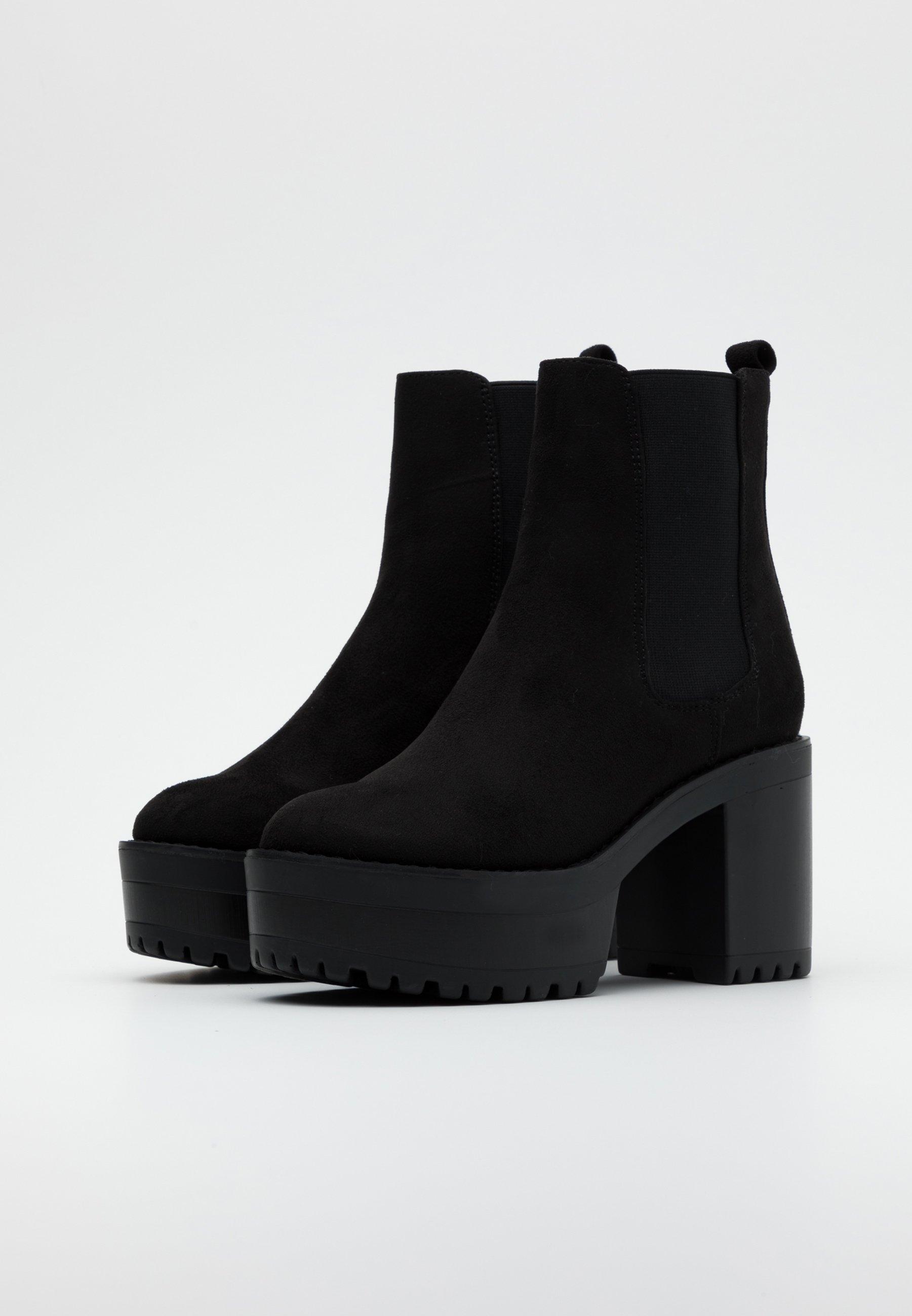 Even&Odd Wide Fit High Heel Stiefelette black/schwarz