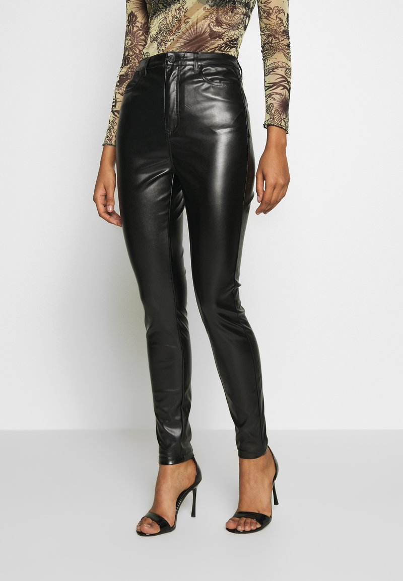 Missguided - TROUSERS - Bukse - black