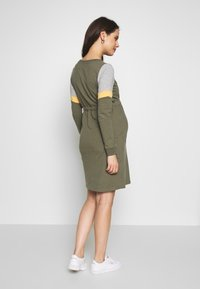 MAMALICIOUS - MLMENA DRESS - Vestido informal - dusty olive - 2