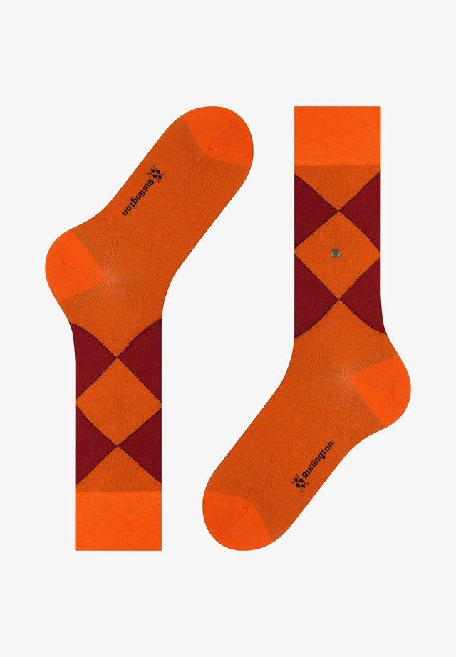 ORGANIC - Chaussettes - neon orange