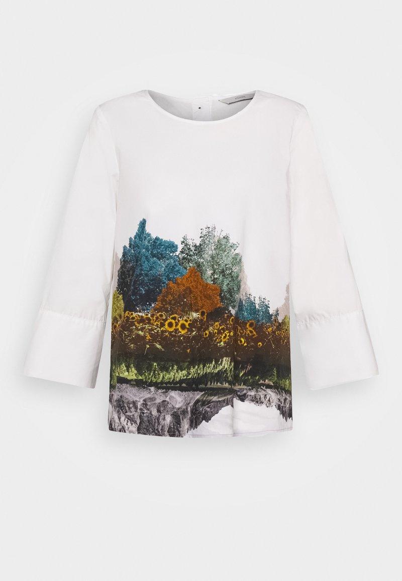 Nümph - NUBRONYA BLOUSE - Bluser - bright white