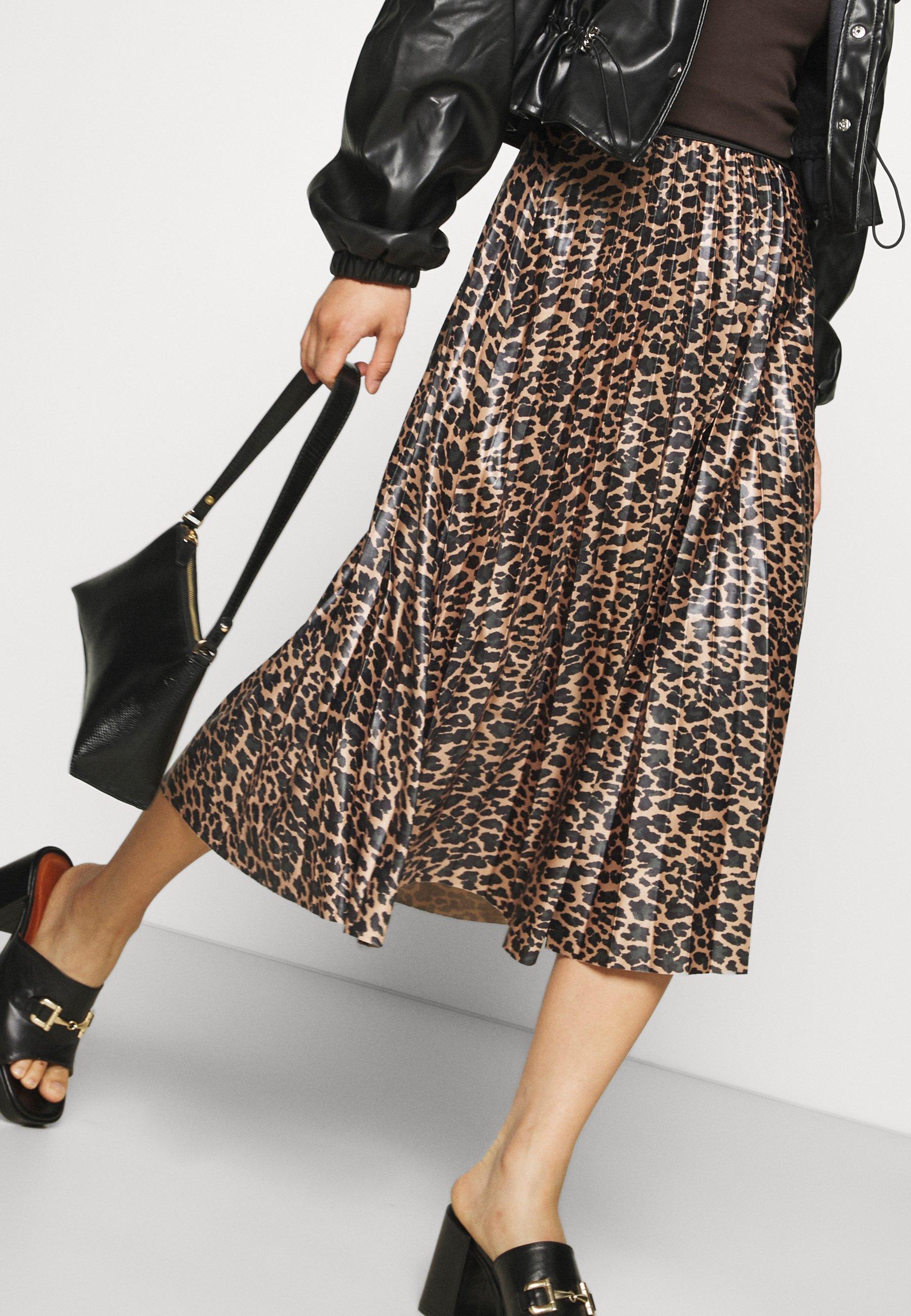 Femme VINITBAN PRINT SKIRT - Jupe plissée
