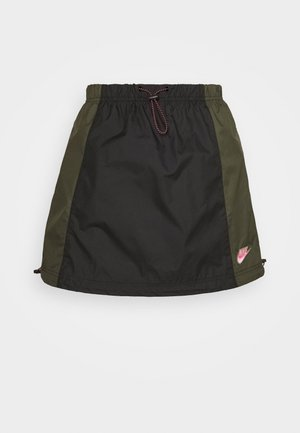 A-line skirt - black/twilight marsh