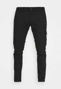 Tommy Jeans - SCANTON DOBBY PANT - Cargo trousers - black - 4