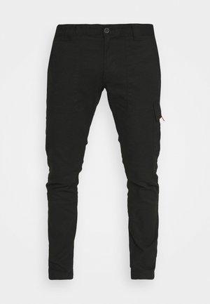 SCANTON DOBBY PANT - Pantaloni cargo - black