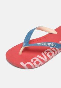 Havaianas - LOGOMANIA HIGHTECH UNISEX - Flip Flops - pink porcelain - 4