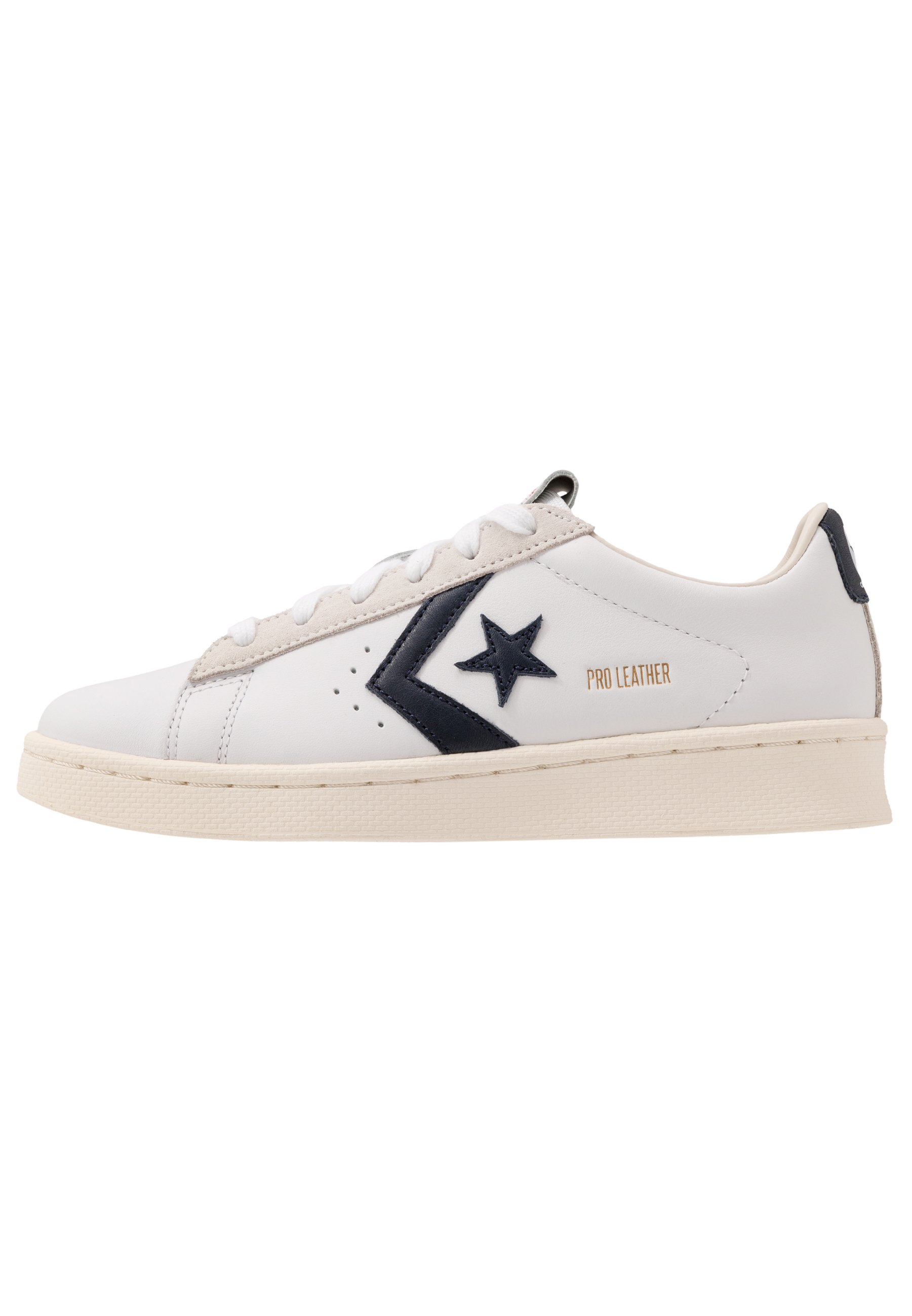 PRO LEATHER - Sneakers basse - white/obsidian/egret