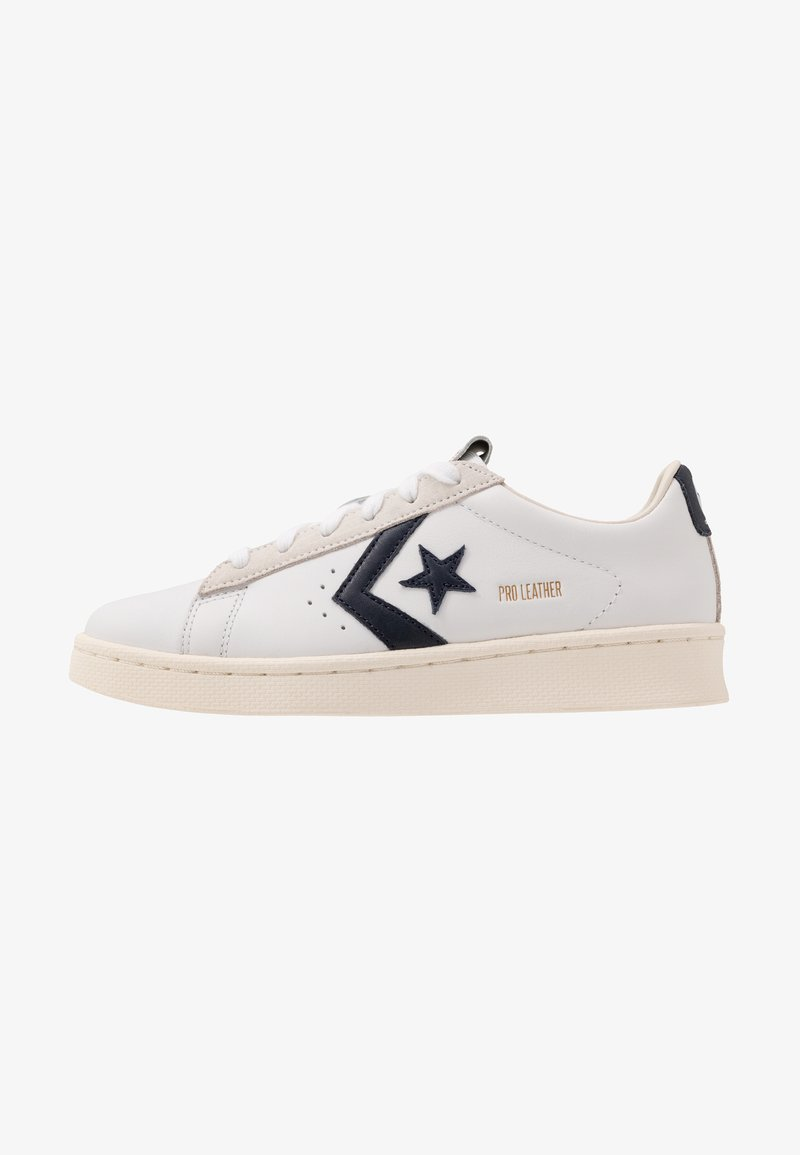 Converse - PRO LEATHER - Trainers - white/obsidian/egret