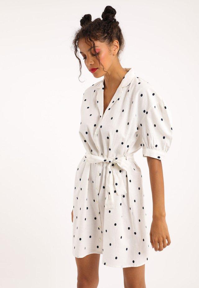 Blusenkleid - weiß