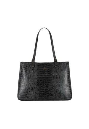 CROCO - Handbag - schwarz