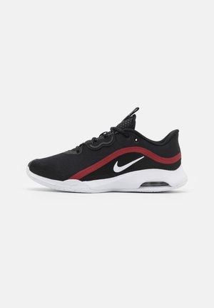 AIR MAX VOLLEY - All court tennisskor - black/white/gym red