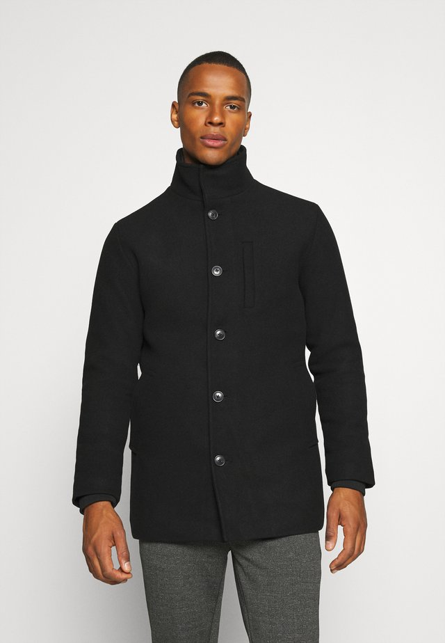 JJDUAL JACKET - Classic coat - black