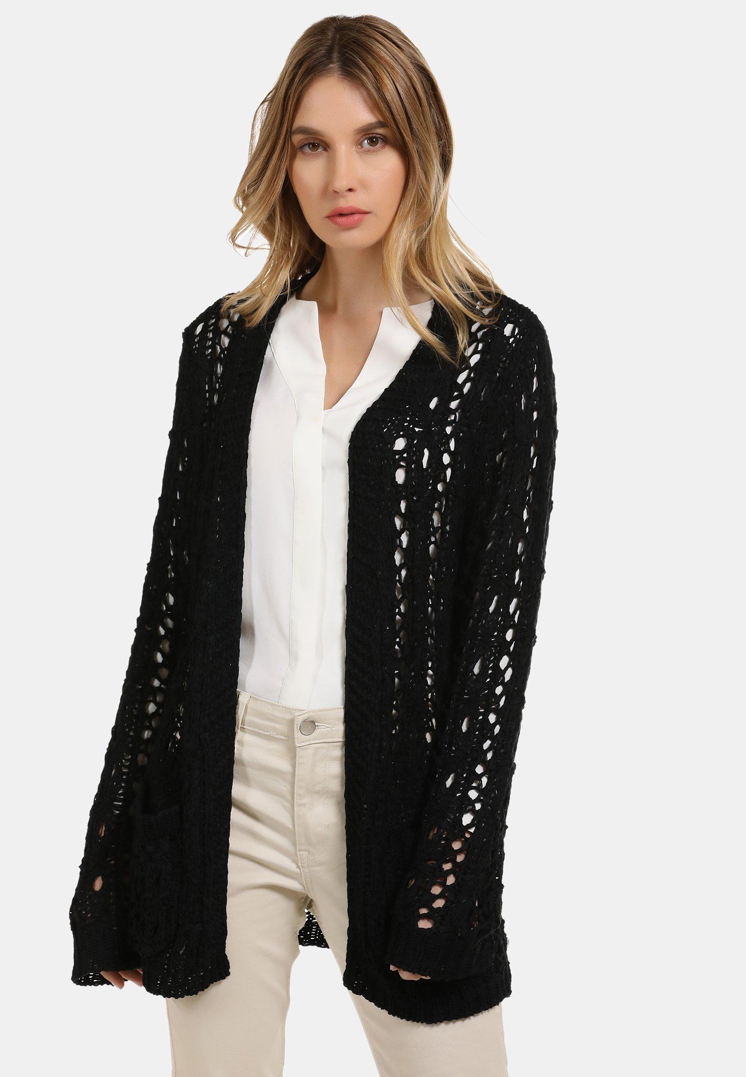 New Arrival Fashion Women's Clothing usha Cardigan black j2doG2PNT