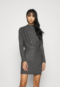 Gina Tricot - AMBER DRESS EXCLUSIVE - Cocktailkjoler / festkjoler - silver - 0