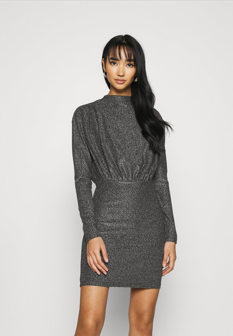 Gina Tricot - AMBER DRESS EXCLUSIVE - Cocktailkjoler / festkjoler - silver