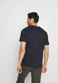 Pier One - 2Pack - T-shirt - bas - olive/dark blue - 2