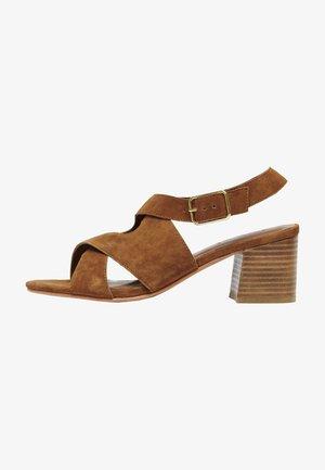 MADINA  - Sandals - camel