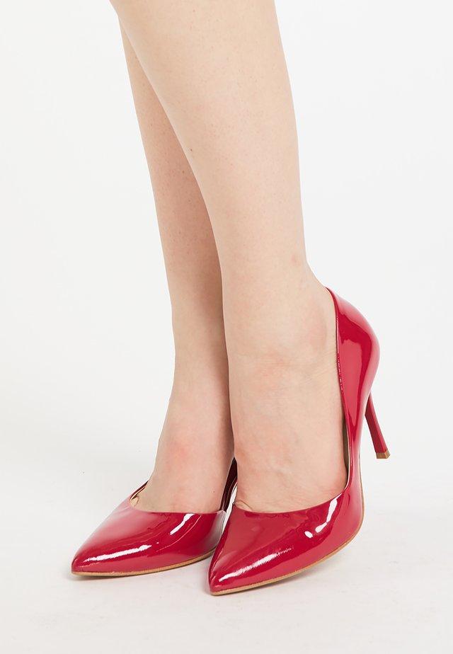 Zapatos altos - rot