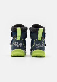 Jack Wolfskin - POLAR BEAR TEXAPORE MID UNISEX - Winter boots - blue/lime - 2