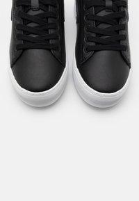 HUB - HOOK  - Trainers - black/white - 4