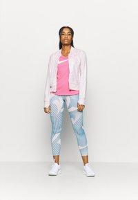 Nike Performance - RUN TANK - Camiseta de deporte - pink glow/white - 1