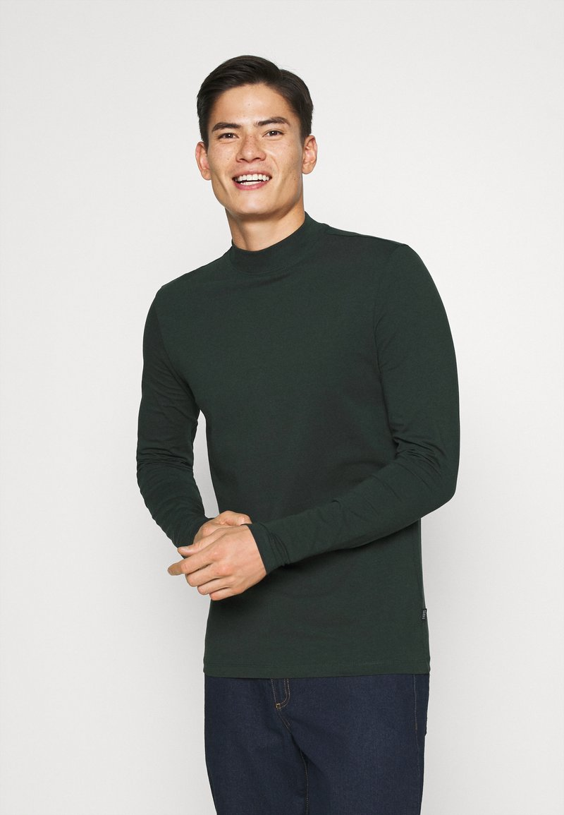 Casual Friday - THEO TURTLE NECK  - Long sleeved top - scarab