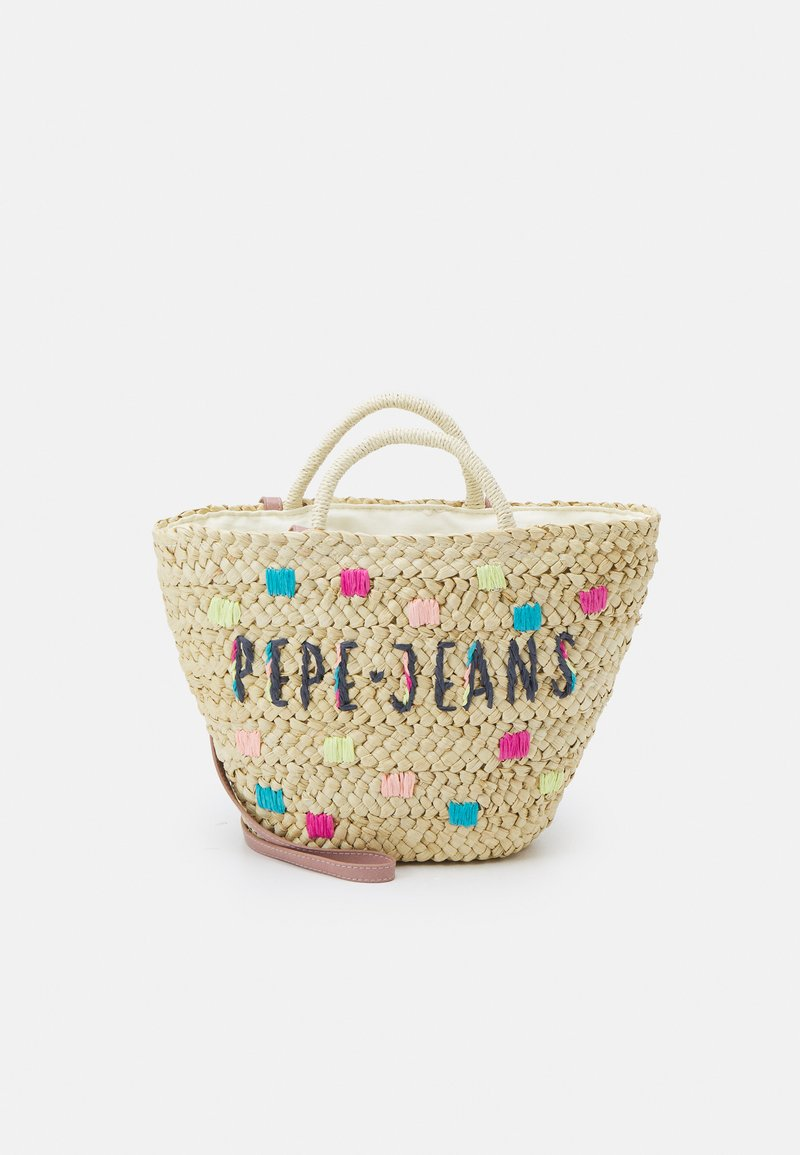 Pepe Jeans - JENNIFER BAG - Handbag - beige
