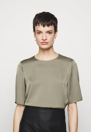 TEE - Blouse - grey taupe