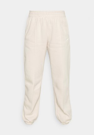 MR PANT - Tracksuit bottoms - pearl white/white