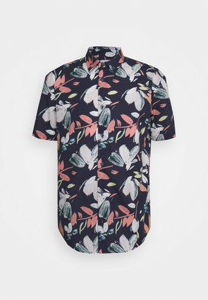 HAND DRAWN FLORAL - Shirt - sea
