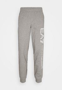 EA7 Emporio Armani - Pantaloni sportivi - grey/white - 5