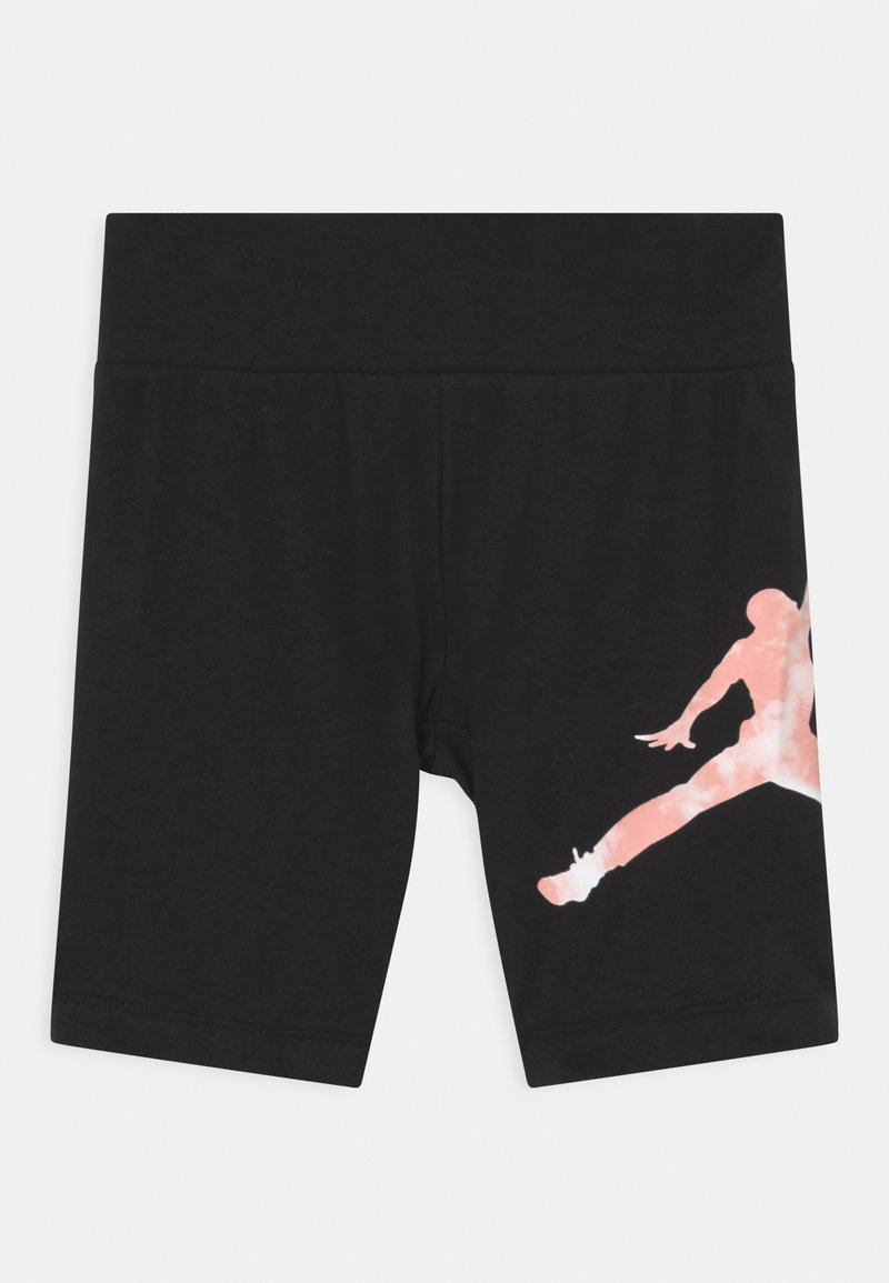 Jordan - GIRL TIE DYE BIKER  - Leggings - black