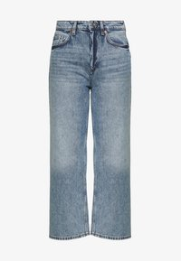 Monki - MOZIK - Relaxed fit jeans - blue - 4